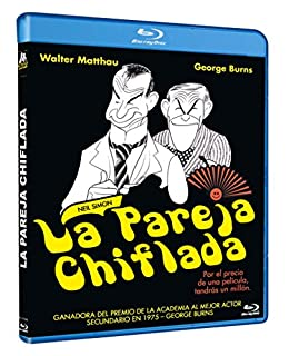 La Pareja Chiflada BD 1975 The Sunshine Boys [Blu-ray]