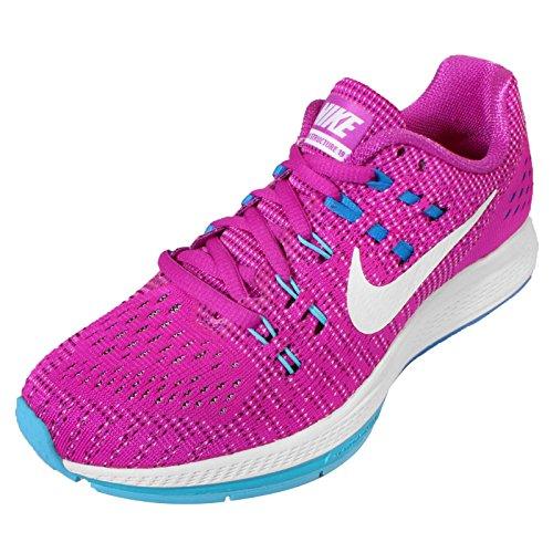 Nike W Air Zoom Structure 19, Scarpe da Corsa Donna Azul (Hypr Vlt / White-Gmm Bl-Pht Bl)