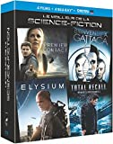 Le Meilleur de la science-fiction - Coffret : Premier contact + Bienvenue à Gattaca + Elysium + Total Recall : mémoires programmées [Blu-ray + Copie digitale]