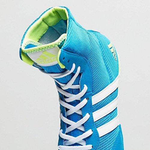 adidas Box Hog 2, Chaussures de Boxe Mixte Adulte Bleu