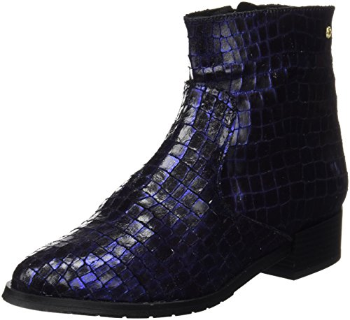 Cuple Botin Cow Boy Crocus Navy, Bottines femme Bleu