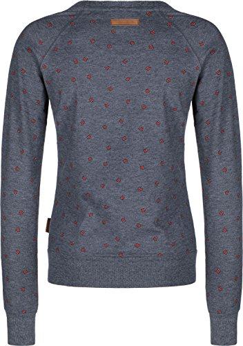 Naketano Damen Sweatshirt Blau (296) M