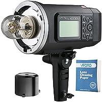 Godox Witstro AD600BM Bowens Mount Manual Versión HSS 1 / 8000s 600W GN 87 Linterna al Aire Libre con Batería de Litio 8700mAh compatible X1T TTL Transmisor Inalámbrico para Nikon Canon Sony Serie Cámaras