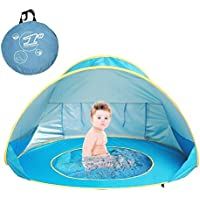 MOONBROOK Baby Beach Tienda portátil Ligero Pop-up Piscina protección UV Exterior Sun Shelter para bebé