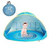 MOONBROOK Baby Strand Zelt Portable Leichte Pop up Pool UV Schutz Outdoor Sun Shelter für Baby