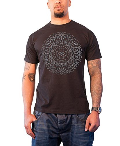 Bring Me The Horizon Kaleidoscope logo throne Herren Nue Schwarz T Shirt Schwarz