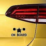 Stickerss Aufkleber Fürs Auto Auto Tuning Aufkleber Baby Auto Gewichtheber Vinyl Auto Aufkleber...
