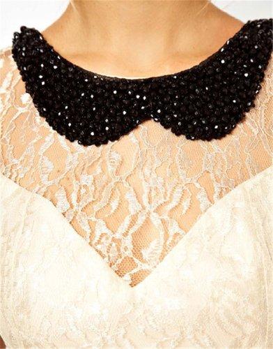 Qiyun–Robe pour femme Blanc
