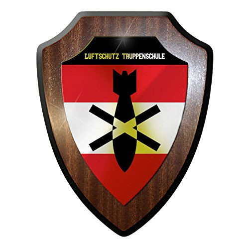 Wappenschild / Wandschild / Wappen - Luftschutz Truppenschule Österreich Austria Militär Bundesheer #10081