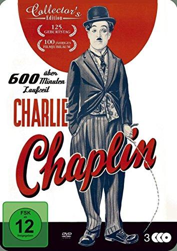 Charlie Chaplin - Metal Box (3 DVDs)