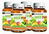 Minceur drainant | Diurétique supplément naturel | 4 BOX | Dren Plus 60 comprimés | formulation avec: TIGE D'Pineapple PILOSELLA BIRCH FUCUS CENTELLA TE « VERT GINKGO BILOBA BIOFLAVONO�DES