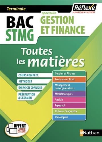 Gestion et finance Tle STMG : Toutes les matières par Collectif