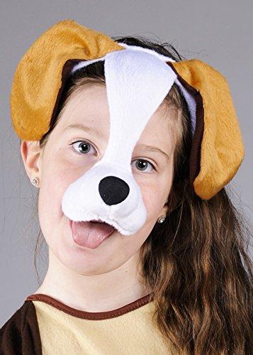 Maschera di cane childrens copricapo su archetto - Cane Carino Travestimenti