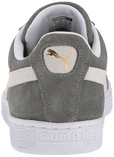 Puma Chaussures Classiques en Daim Pour Hommes Castor Gray-puma White