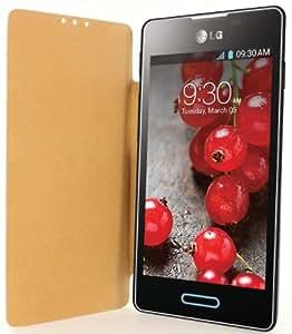 Swiss Charger SCP41107 Etui en plastique pour LG Optimus L5 II Noir