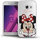 "Samsung Galaxy A3 (2017) 4.7"" A320F Étui HCN PHONE® Coque silicone TPU Transparente Ultra-Fine Dessin animé jolie Thème Noël pour Samsung Galaxy A3 (2017) 4.7"" A320F - Minnie Mouse"