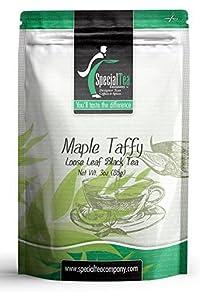 Special Tea Loose Leaf Black Tea, Maple Taffy, 3 Ounce