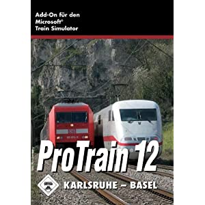 Train Simulator ProTrain 12 Karlsruhe – Basel