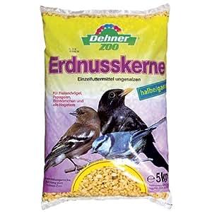 Dehner Erdnusskerne, halb/ganz, 1er Pack (1 x 5 kg)