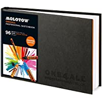 Molotow ONE4ALL professionale, formato A4, 96 pagine, arancione Edition