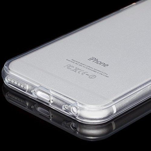 iPhone 6 6S Hülle Handyhülle von NICA, Ultra-Slim Silikon Case Crystal Schutzhülle Dünn Durchsichtig, Handy-Tasche Back-Cover Transparent Bumper für Apple iPhone 6S 6 - Transparent iPhone 6 / 6S – Transparent