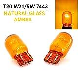 Stripey Elite Blinkerlicht T20 W21/5W 7443, 12 V, Bernstein, Orange, Gelb, links / rechts, 2 Stück