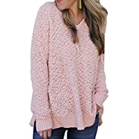 junkai Frauen Sweatshirt Hoodie Langarm Fleece Kapuze Oversized Jumper Pullover Bluse Tops S-XL