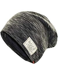 2d8e710c5483 KSell Bonnets Hip Hop d automne d hiver Chapeaux Hommes Logo Rock Casual  Cap Turban Chapeau Bonnet Casquettes de Velours pour…