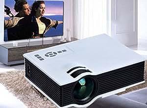2,015 New UNIC UC40 Projecteur Mini Projecteur Portable AV Home Theater Projector USB et SD HDMI Projecteur Multimédia
