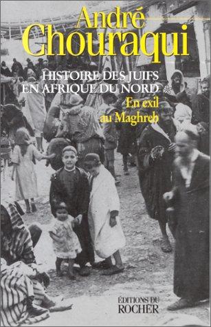 Histoire des Juifs en Afrique du Nord, tome 1 : En exil au Maghreb par André Chouraqui