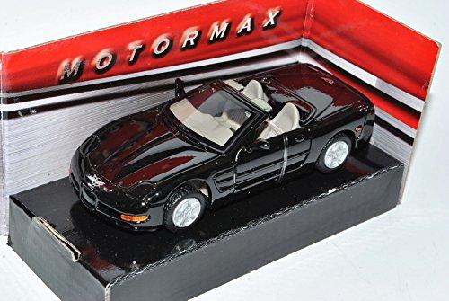 Preisvergleich Produktbild Chevrolet Corvette C5 Cabrio Schwarz Offen 1997-2004 1/43 Motormax Modell Auto