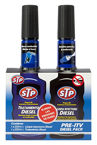 STP ZSTP04 Kit pre-ITV con Limpia Inyectores Coches Diésel,