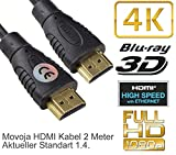 HDMI Kabel 2M Meter 4K 1.4 Highspeed mit Ethernet -