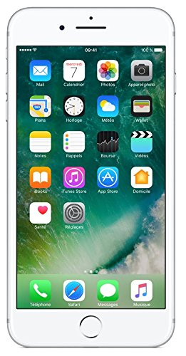 "Apple iPhone 7 Plus SIM única 4G 256GB Plata - Smartphone (14 cm (5.5""), 1920 x 1080 Pixeles, Plana, IPS, 1300:1, Multi-touch)"