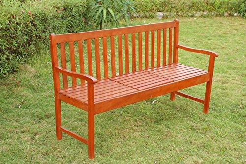 Gartenbank mit Tisch - 5