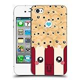Head Case Designs Popcorn Kawaii Serie 1 Ruckseite Hülle für Apple iPhone 4 / 4S