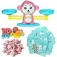Balance Educational Toy Monkey - Báscula Digital de Equilibrio para niños, educación científica, iluminación