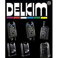 Rot//Blau//Gr/ün//Gelb//Wei/ß//Lila Delkim EV Plus Carp Bissanzeiger