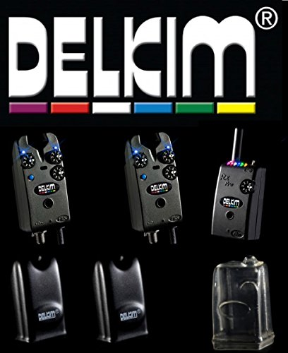 2 Delkim TXi Plus Bissanzeiger + RX Receiver Plus Pro 6 Led