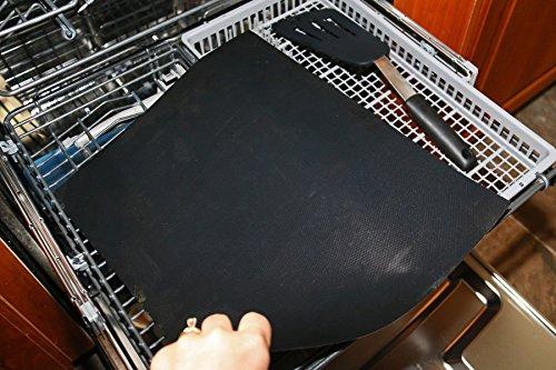 51GQJ3 44dL - sujeo Premium Qualität Grill/Grillen Automatten für gas-bbq Grill/anthrazit/Elektrische für Steak/Burger/Hot Dogs/Gemüse, draußen, und innen Grillen BBQ Mats Sicher für Kinder Set 3