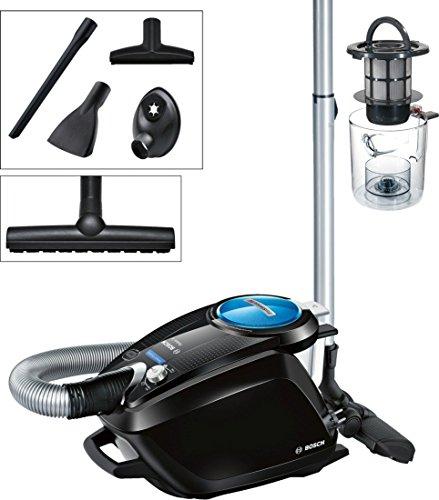 Bosch Relaxx\'x ProSilence66 Bodenstaubsauger beutellos BGS5SMRT66, besonders leise, energieeffizient, für Allergiker geeignet, 700 Watt, schwarz