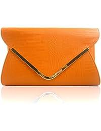 Amazon.co.uk: Orange - Clutches / Women's: Shoes & Bags