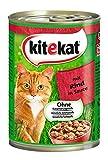 Kitekat Katzenfutter Rind in Soße
