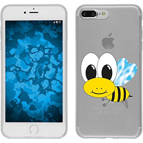 PhoneNatic Apple iPhone 8 Plus Custodia in Silicone Cutiemals M6 Case iPhone 8 Plus + pellicola protettiva Disign:01