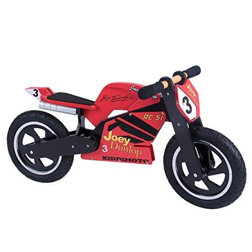 Kiddimoto 312 Roue de Superbike Hero Kevin Schwantz Mixte Enfant, Multicolore, 10-18 inch