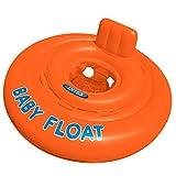 Intex Schwimmhilfe Baby Float Sitzring, Orange,  76 cm