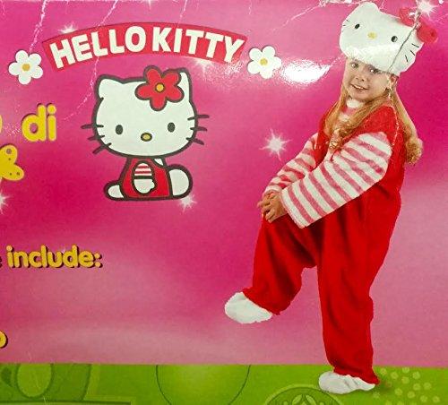 Costume da carnevale hello kitty tg.3