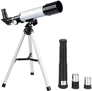 Manfore Kinder Teleskope Tragbares Teleskop Astronomie Kamera