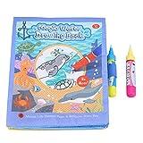 Fdit Baby Kinderwasser Zeichnungs Malerei Stoff Buch spielende Geschenke wiederverwendbar
