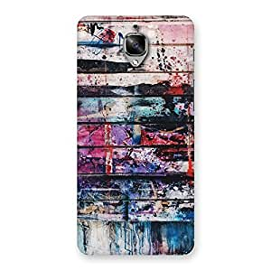 Neo World Splash on the Walls Back Case Cover for OnePlus 3